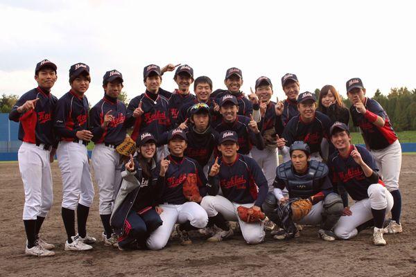 軟式野球部 北海道地区大学軟式...